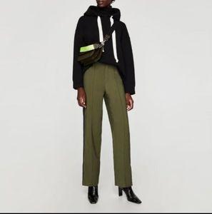 ZARA - Army Striped Trousers